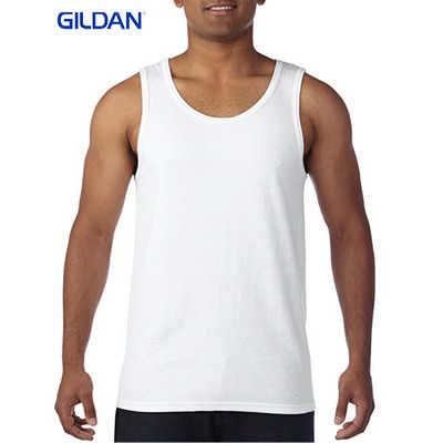 Gildan Heavy Cotton Adult Tank Top White 5200_WHITE_GILD
